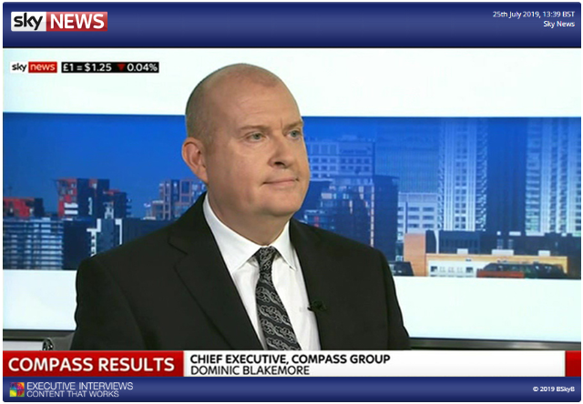 25 July 2019: Dominic Blakemore's interview on Sky News